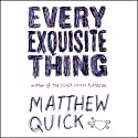 Every Exquisite Thing Audiobook by Matthew Quick Narrated by Vanessa Johansson