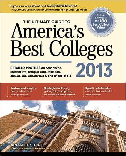 Colecciones de libros electrónicos de AmazonThe Ultimate Guide to America's Best Colleges 2013 (Spanish Edition) PDF by Gen Tanabe
