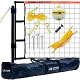 Park & Sun Sports Tournament Flex: Portable Outdoor Volleyball Net System