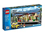 LEGO® CITY® Train Station Building with Taxi and Rail Track Pieces | 60050