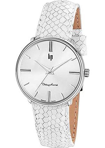 Lip - Dauphine 34 - Reloj Mujer - h671 m291 - Pulsera Cuero ...