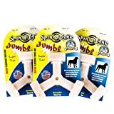 Bullibone Jumbo Spin-a-Bone 3 Pack Bacon Flavor – Interactive Dog Toy Interactive Dog Toy for Aggressive Chewers, Triggers Natural Instincts, and Improves Oral Health Review