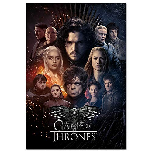 thaishoney Game of Thrones Season 8 Poster Design Prints (Game Of Thrones Season 5 Poster)