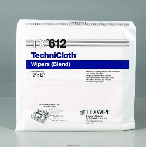 (TechniCloth Wipers, Techni Cloth 12X12 Wipers, (1 PACK, 150 EACH) by Itw Texwipe)