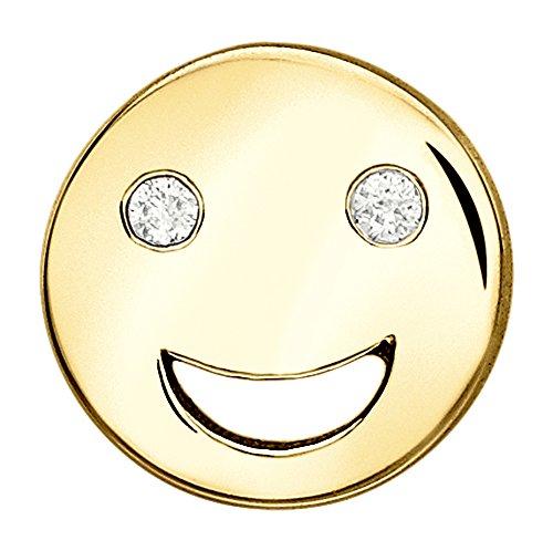 Alison Lou femme  14carats (585/1000)  Or jaune|#Gold Rond   Blanc Diamant