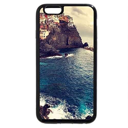 iPhone 6S Case, iPhone 6 Case (Black & White) - Manarola, Italy