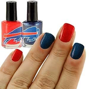 NFL Buffalo Bills Two-Pack Team Colored Nail Polish