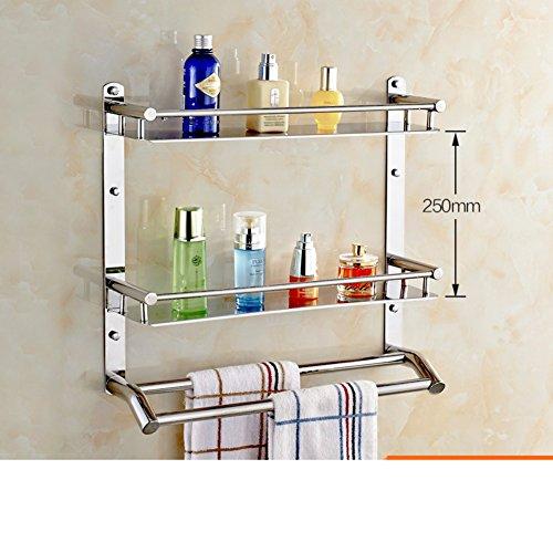 best Stainless steel Towel rack bath/Bathroom accessories/the shelf in the bathroom/Bathroom racks-A