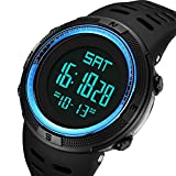 Mens Watches Fashion Digital Electronic Waterproof Military LED Sport Multifunction Wrist Watch