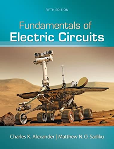 fundamentals of electric circuits charles k alexander professor of