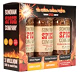 Sonoran Spice Carolina Reaper, Trinidad Scorpion, Ghost Pepper Flake Super Hot Box