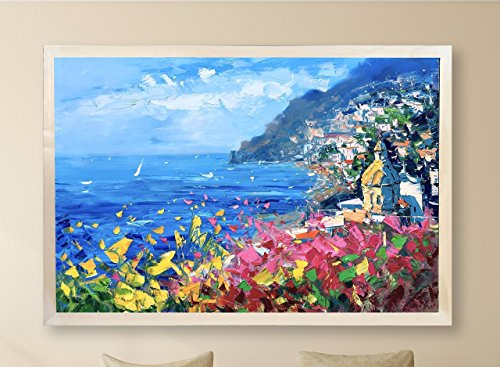 Positano Painting on Canvas 60