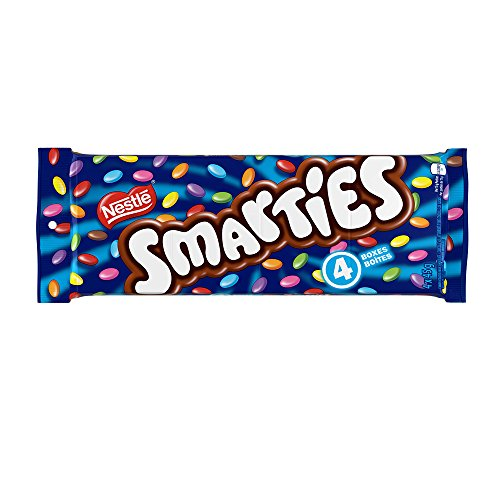 SMARTIES Chocolate Candies 4 x 45gram Pack of 4 - Candy With Chocolate Smarties