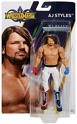 WWE Wrestle Mania AJ Styles Action Figure by WWE