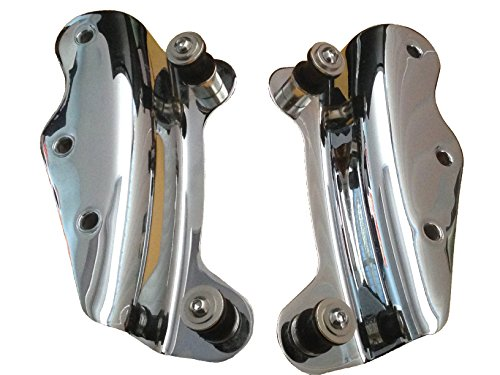 (4-Point Docking Hardware Kit for 2009-2013 Harley Davidson Touring - Chrome)