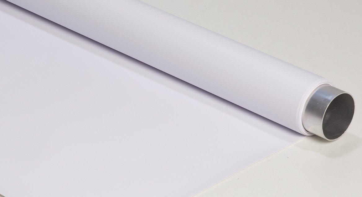 FOND EN VINYLE R/ÉVERSIBLE DOUBLE FACE VERT ET BLANC 200CMX500CM