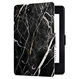 Huasiru Painting Case for Kindle Paperwhite, Marble Black - fits All Paperwhite Generations Prior to 2018 (Will not fit All-New Paperwhite 10th Generation)