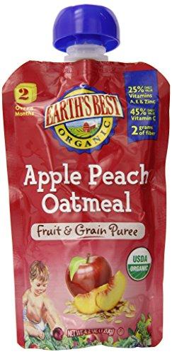 Земель Лучший органических первая еда Фрукты Starter Kit, 2,5 унции (в упаковке 12)