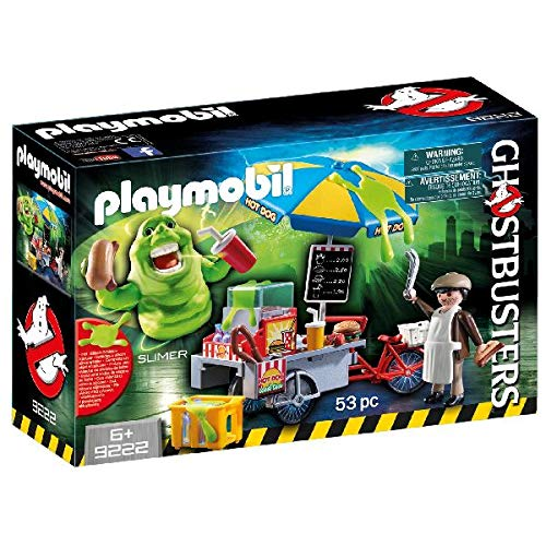 PLAYMOBIL Slimer with Hot Dog Stand]()