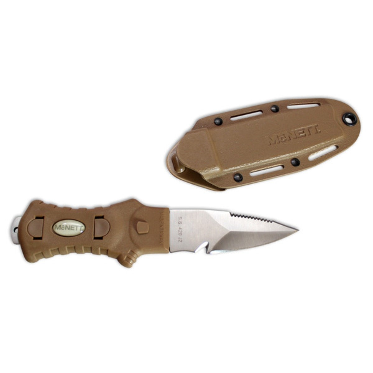 McNett Tactical Fixed Blade Samish Knife with Sheath