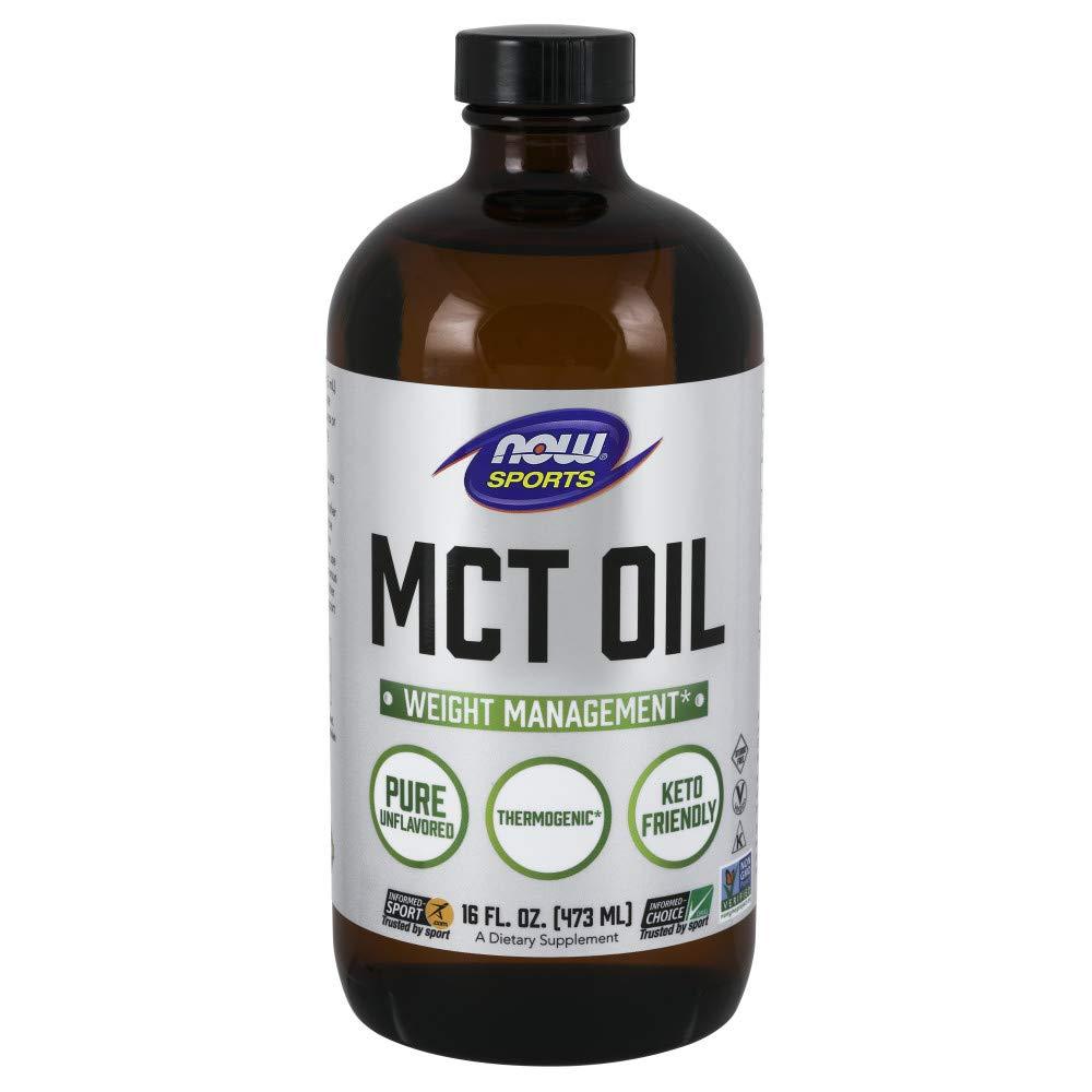 Now Sports, Medium Chain Triglycerides Oil, 16 oz