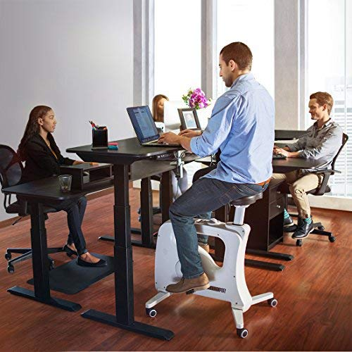 FLEXISPOT Home Office Under Desk Exercise Bike Height Adjustable Cycle - Deskcise Pro by FLEXISPOT (Image #6)