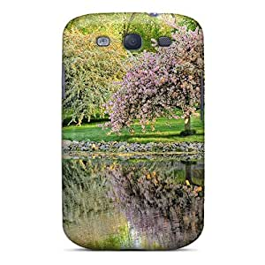 Tpu JeffMclaren Shockproof Scratcheproof Reflections Of Springtime Hard Case Cover For Galaxy S3