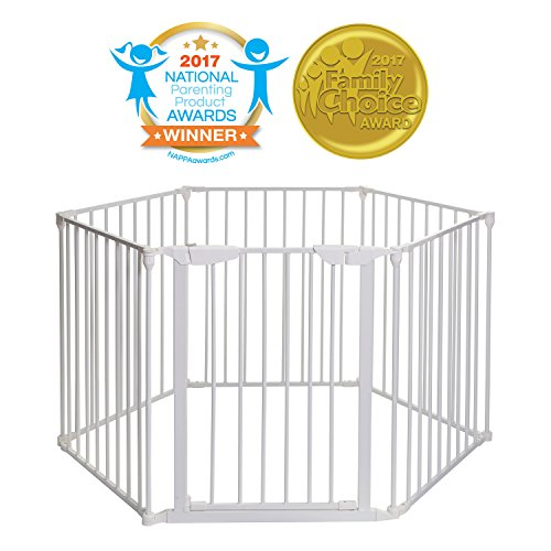 Mayfair Converta 3 in 1 Play-Pen 6 Panel Gate, White ()