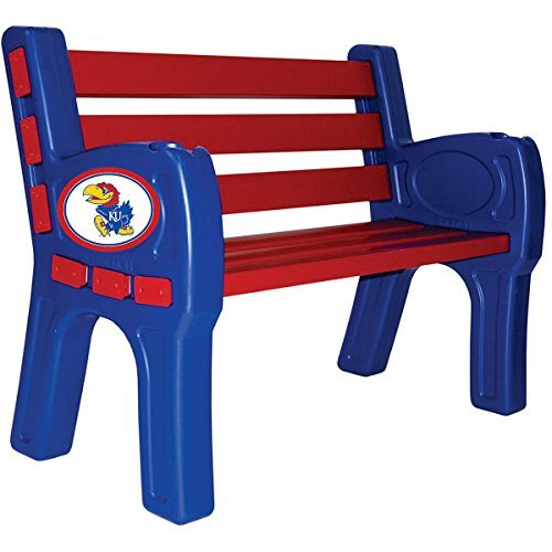 Imperial INTERNATIONAL KANSAS JAYHAWKS PARK BENCH by Imperial