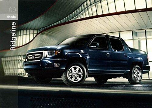2009 Honda Ridgeline Pickup Truck ORIGINAL Factory Postcard