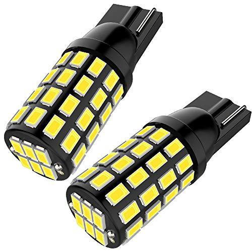 (2019 New Model) 921 LED Bulb Super Bright 54SMD 3014 Chipset 912 W16W LED Wedge Light 2.8W 12V-24V Used For Backup Reverse Lights(Pack of - Light Wedge Set
