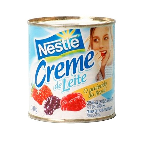 Nestlé Creme de Leite 300ml | Table Cream 10.1 Fl.Oz. (Pack of 04)