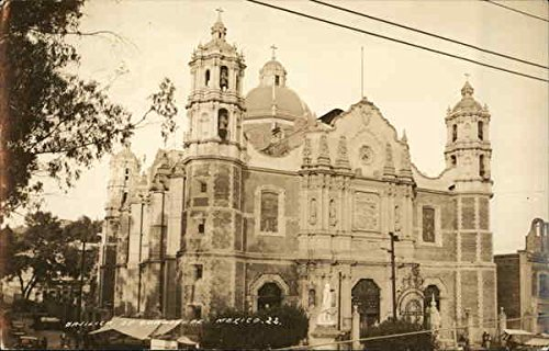 (Basilica de Guadalupe Mexico City, Mexico Original Vintage Postcard)