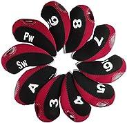 Andux Golf Club Head Covers for Irons 10pcs/Set