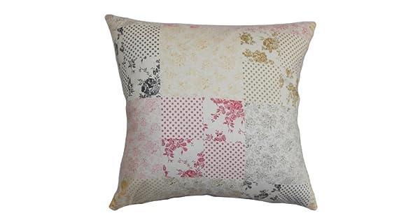 Amazon.com: the pillow collection Keisha almohada floral ...