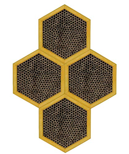 Set of 4 Woodlink Honey Comb Modular Mason Bee Houses by BestNest (Image #3)