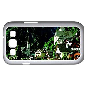 Beautiful Austria - Watercolor style - Case Cover For Samsung Galaxy S3 i9300 (White)