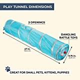 Juvale Pack of 1 Pet Agility Play Tunnel Tube