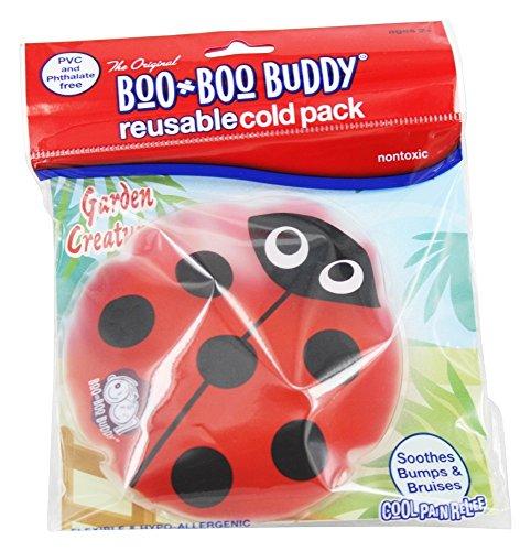 Boo Boo Buddy - Reusable Cold Pack Garden Creature Designs Ladybug ()