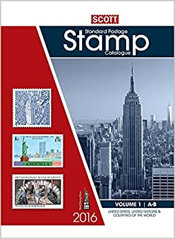 scott standard postage stamp catalogue 2016 united states and affiliated territories united. Black Bedroom Furniture Sets. Home Design Ideas