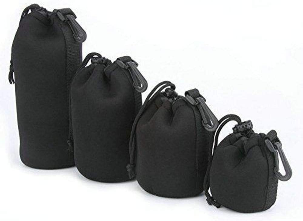 Color: XL Storage Bags for Camera Waterproof Soft Video Camera Lens Pouch Bag Case Full Size S M L XL