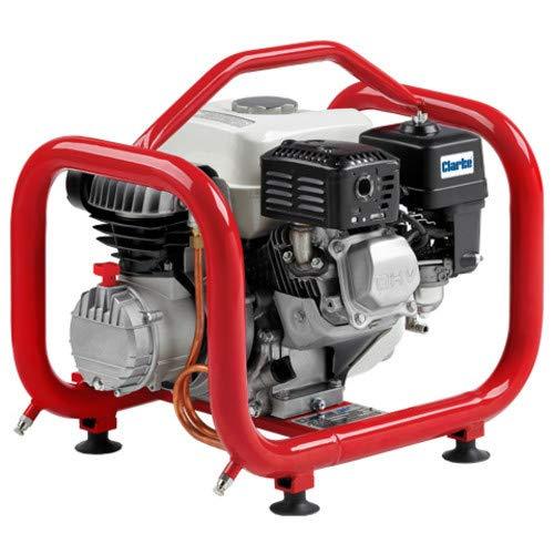 Clarke CPF10H Portable 5Hp Petrol Engine Driven Compressor: DIY & Tools
