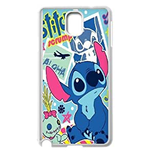 FOR Samsung Galaxy NOTE4 Case Cover -(DXJ PHONE CASE)-Ohana Means Family - Lilo & Stitch Quotes-PATTERN 18