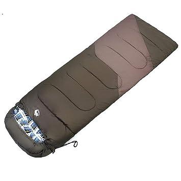 JSJDFPDC Saco de Dormir Sobre llenado de algodón Impermeable al Aire Libre Camping Gear -5 Grados Centígrados Naranja/Azul/Verde del Ejército Sacos de ...