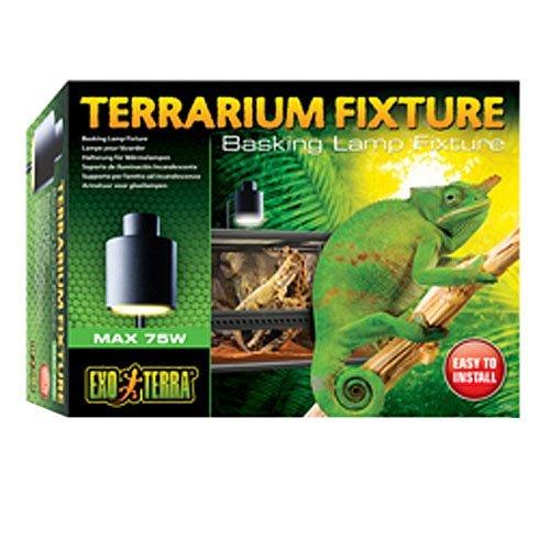 Exo Terra PT2240 Terrarium Basking Lamp Fixture ()