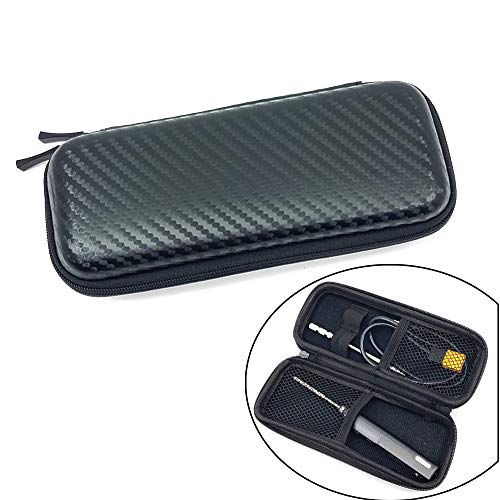 NovelLife TS100 TS80 Soldering Iron Portable Carry Case,EVA Small Zipper Tool Pouch Organizer Bag,Single Layer,2 Elastic Loop Strap