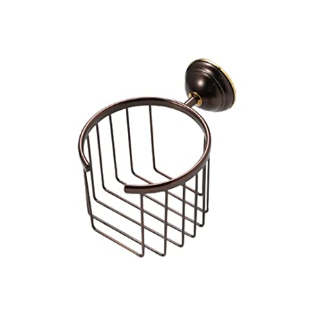 CRW Toilet Paper Roll Holder Soap Basket Caddy Storage Bathroom Shower  Cosmetic Holder Oil Rubbed Bronze