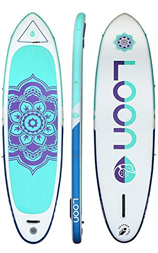 Amazon.com: Loon Paddle Company - Tabla hinchable para yoga ...
