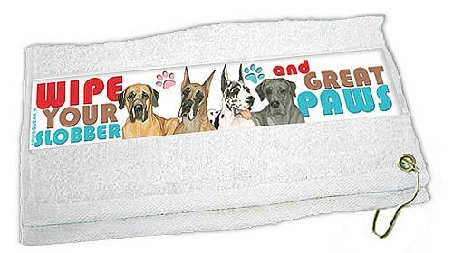 Great Dane Paw Wipe Towel by Pipsqueak