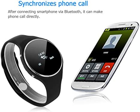 Amazon.com: Excelvan Fashion Bluetooth Smart Watch Round ...